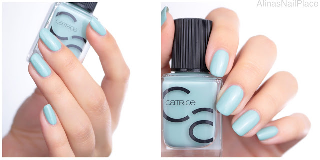 catrice iconails mint map