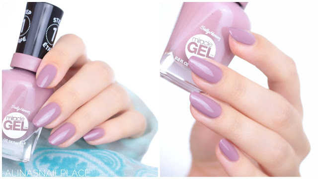 Miracle Gel Sally Hansen Travel Stories 2017 love me lilac