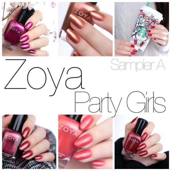 zoya party girls sampler a